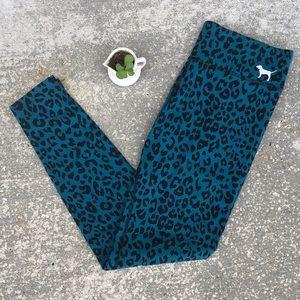 PINK. Victoria's Secret. Leopard Leggings. Size S